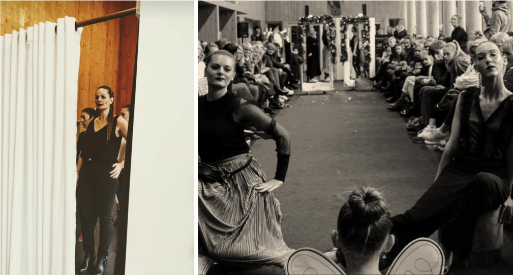 Défilé de mode à Willems organisé par Intempor'elle