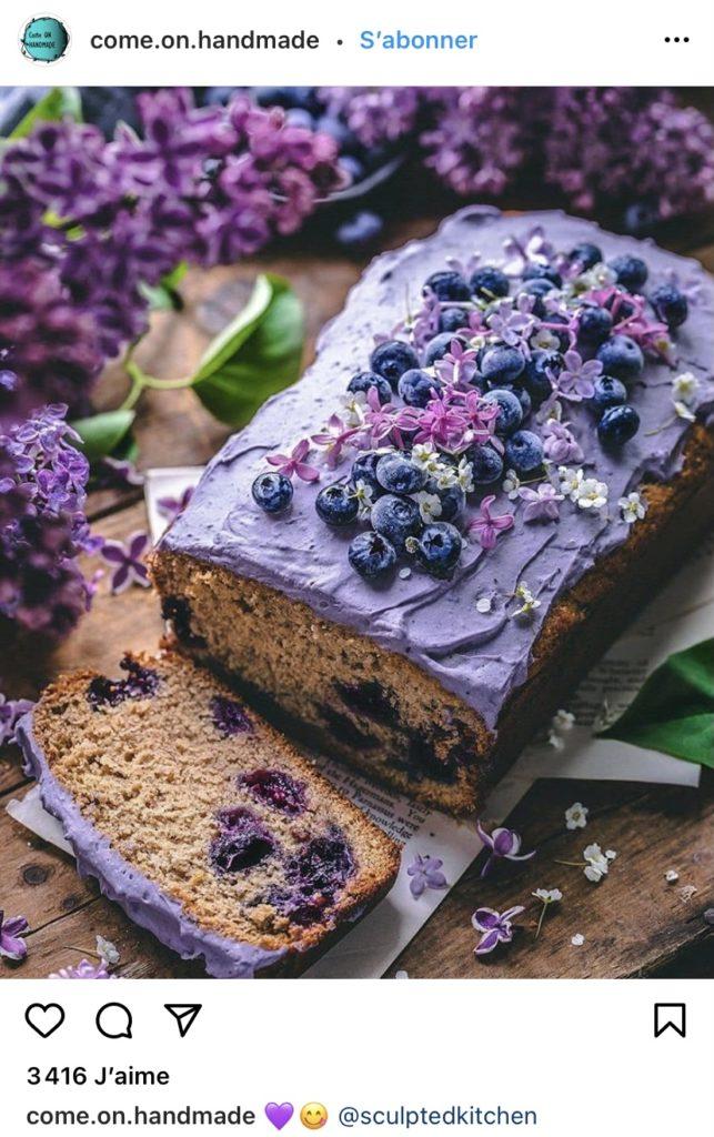 Banabread violet par comeonhandmade